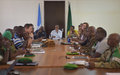 UNSOA Strategic Review Team Visits Mogadishu